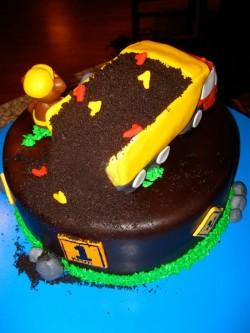 Birthday dump cake