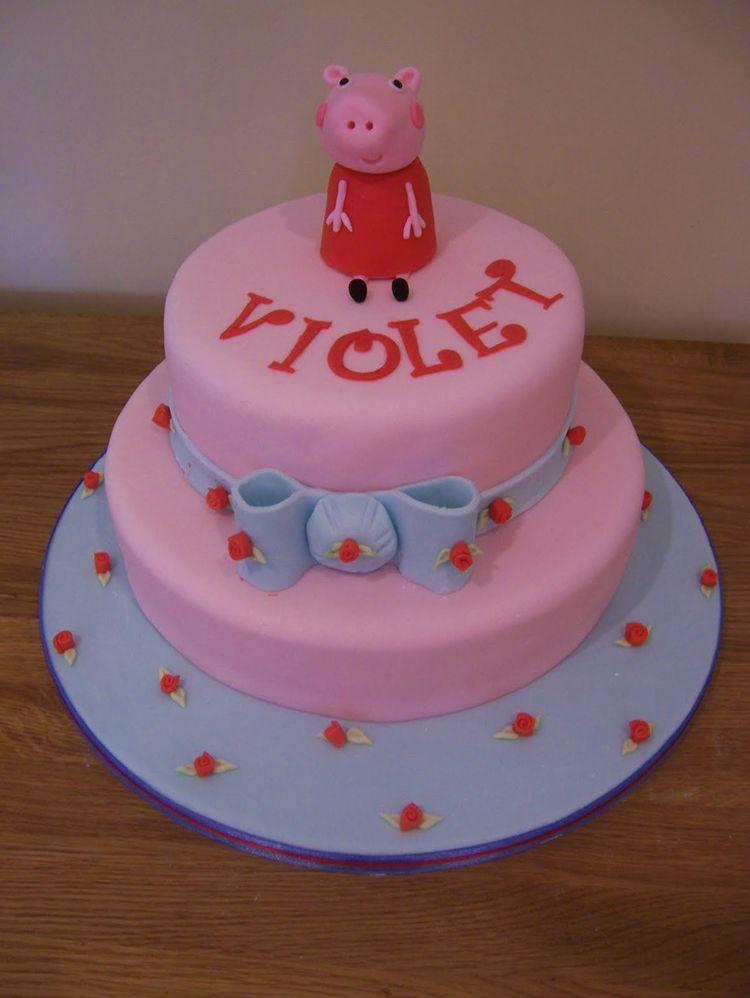 Happy Birthday Peppa Pig Cake
