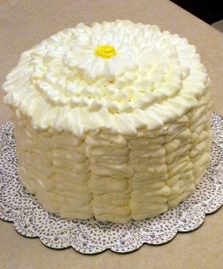 Cake with lemon