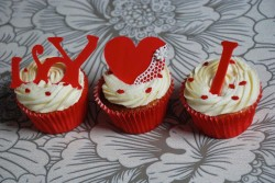 Cupcakes for Valentine's day