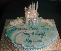 Dream's engagement cake