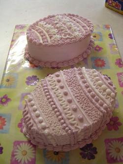 Easter cakes – eggs
