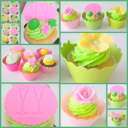 Fresh Easter cupcakes