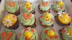 Nice Easter cupcakes