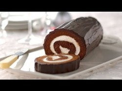 How to make chocolate cake roll