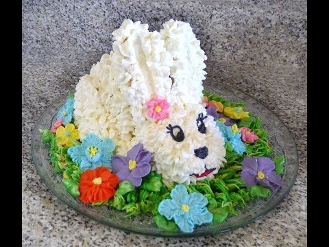 Hot to make Easter Bunny Cake :)