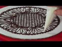 How to make chocolate lace