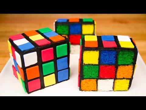 How to make amazing cake – Rubik's Cube