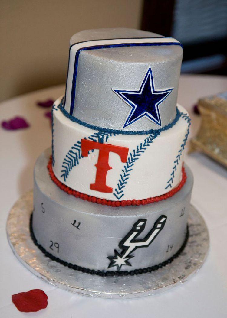3 tier groom's cake