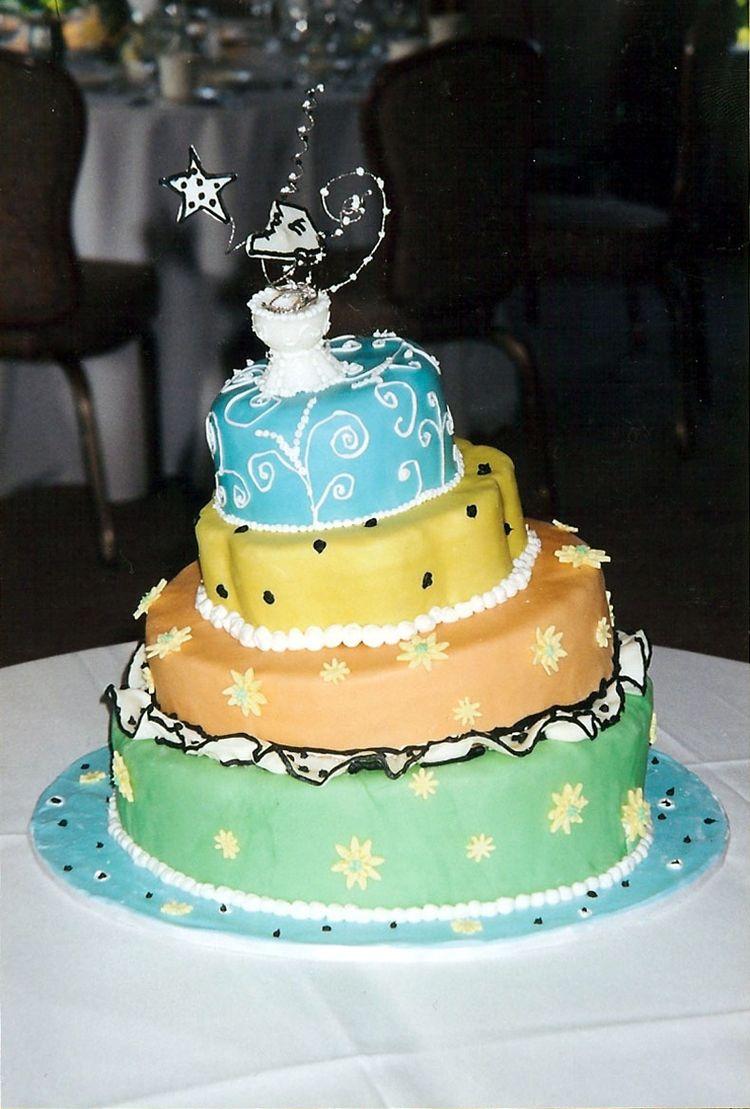 4 tier groom's cake