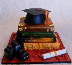 Amazing graduation cake