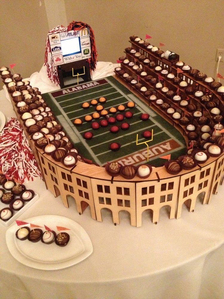 Amazing groom cake