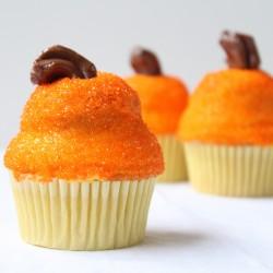 Amazing pumpkin cupcakes