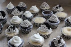 Birthday Oreo cupcakes