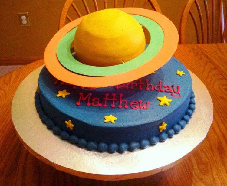 Birthday cake – Saturn
