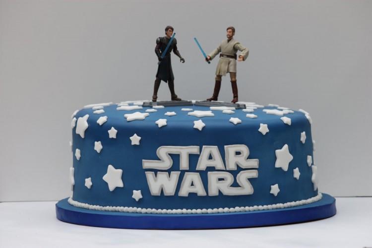 Birthday cake – star wars