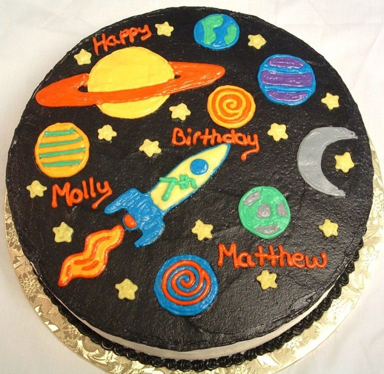 solar system cake toppers - photo #33