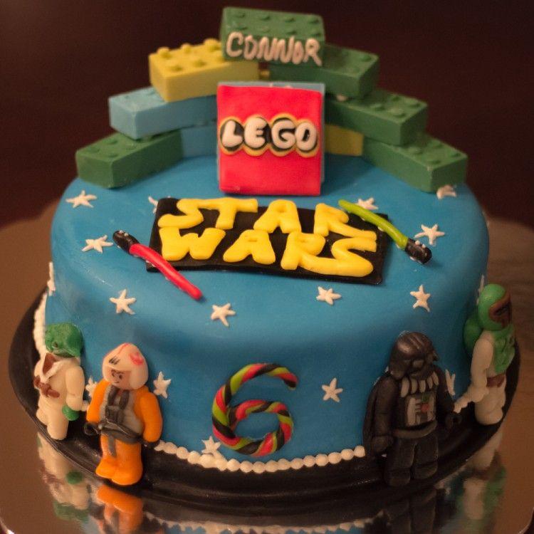 Birthday Lego Star Wars Cake