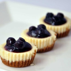 Blueberrie's cheesecake cupcakes
