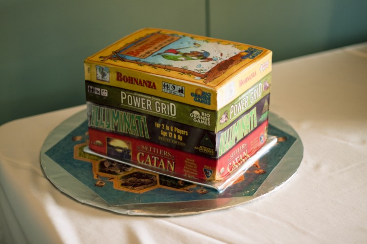 Groom's cake – books