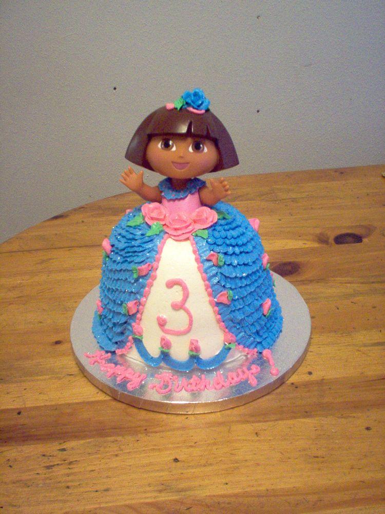 Cake – Dora doll