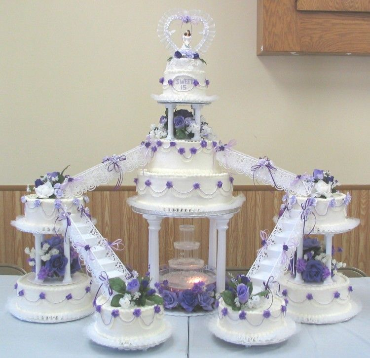 Cake for quinceanera