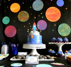 Cake for universe party