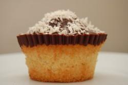 Choclate coconut cupcake