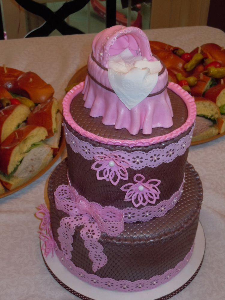 Chocolate cricut cake