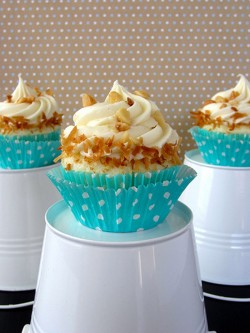 Delicious coconut cupcakes