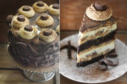 Delicious peanut butter cake