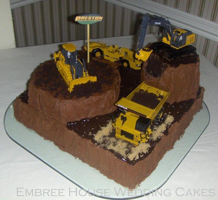 Dirty groom cake