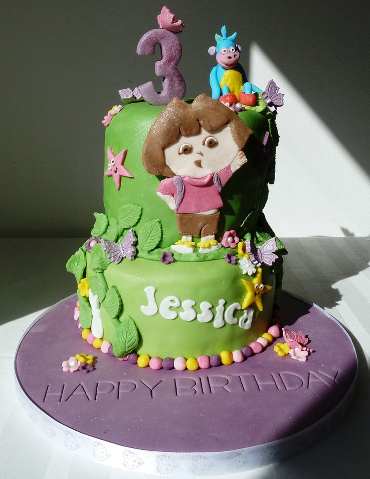 Birthday Cake For Jessica Jessica Happy Birthday Cakes Photosfresh