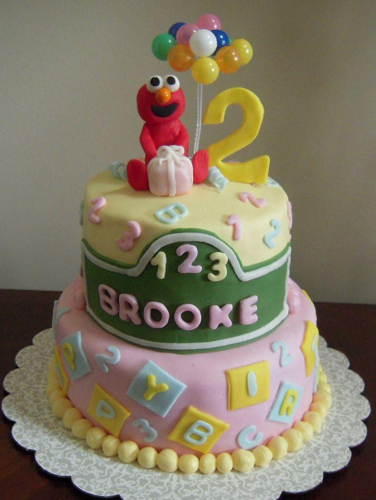 Elmo Cake Decoration Idea