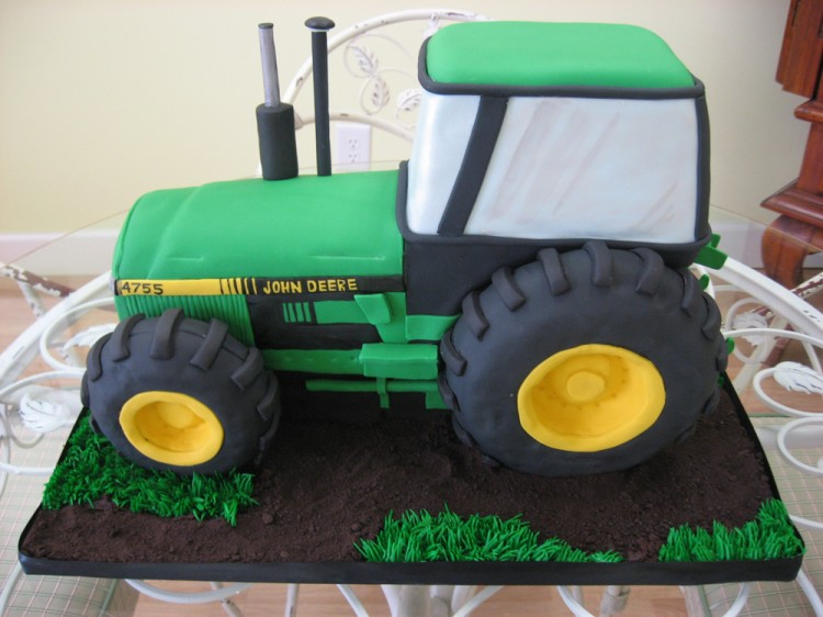 Images Of John Deere Tractor Cakes