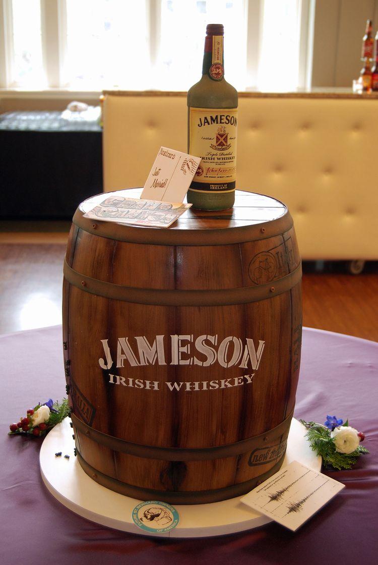 Groom's cake – Irish whiskey
