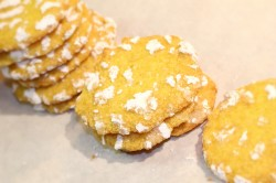 Lemon cake's cookies