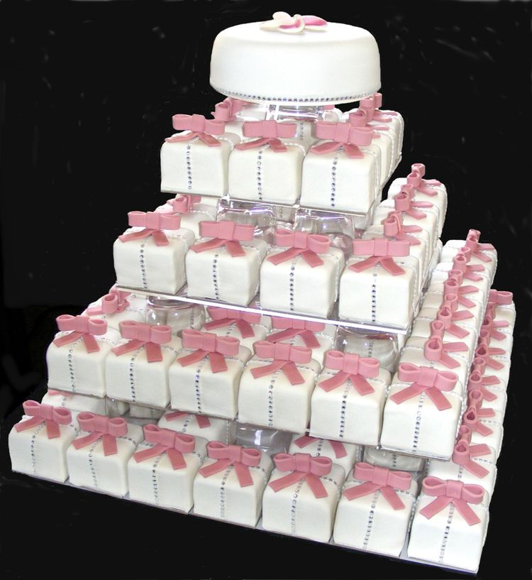 Mini square wedding cakes junglespirit Gallery
