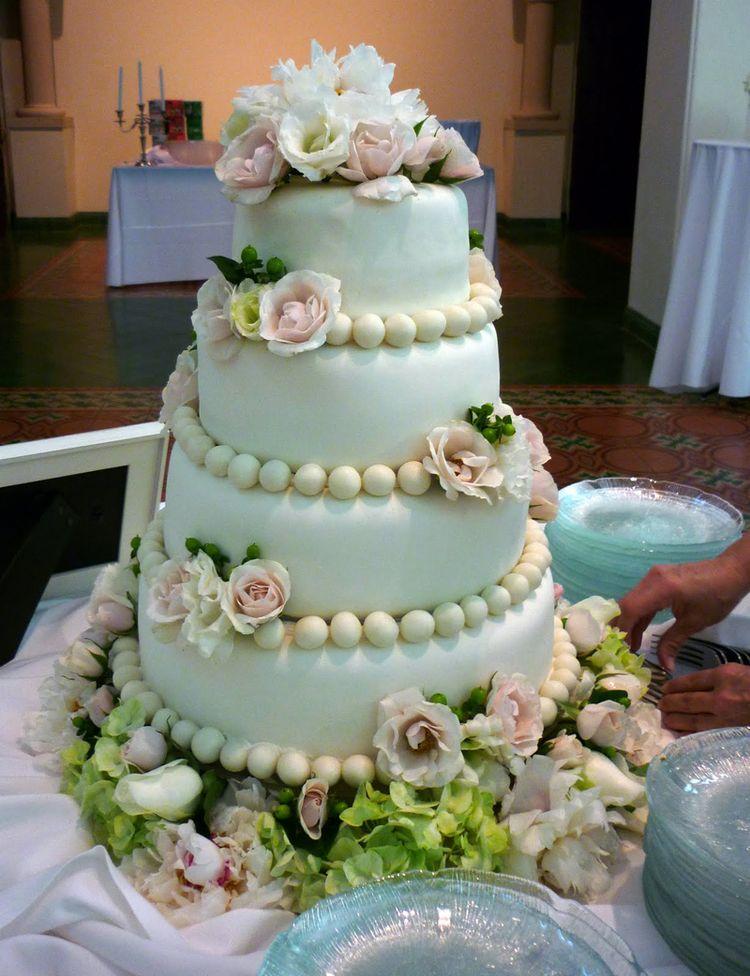 Cake Design Nice : Nice wedding cake