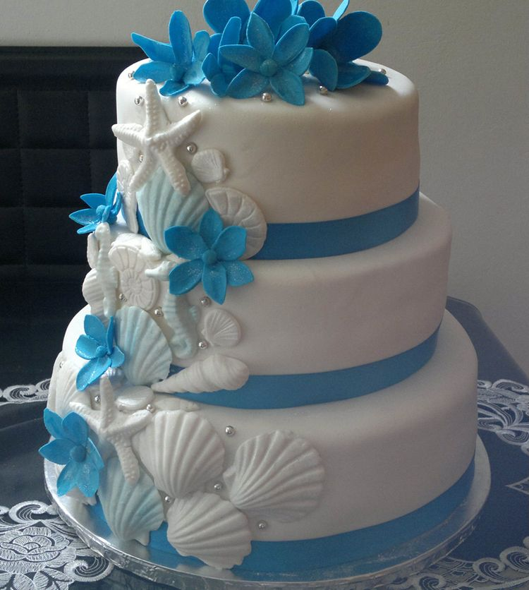 sea themed wedding cakes sea themed wedding cake 19719