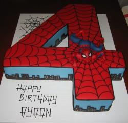 Spider man Cake number 4