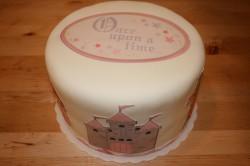 Sweet cricut cake