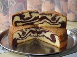 Tasty marble cake