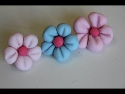 How to make nice fondant flowers