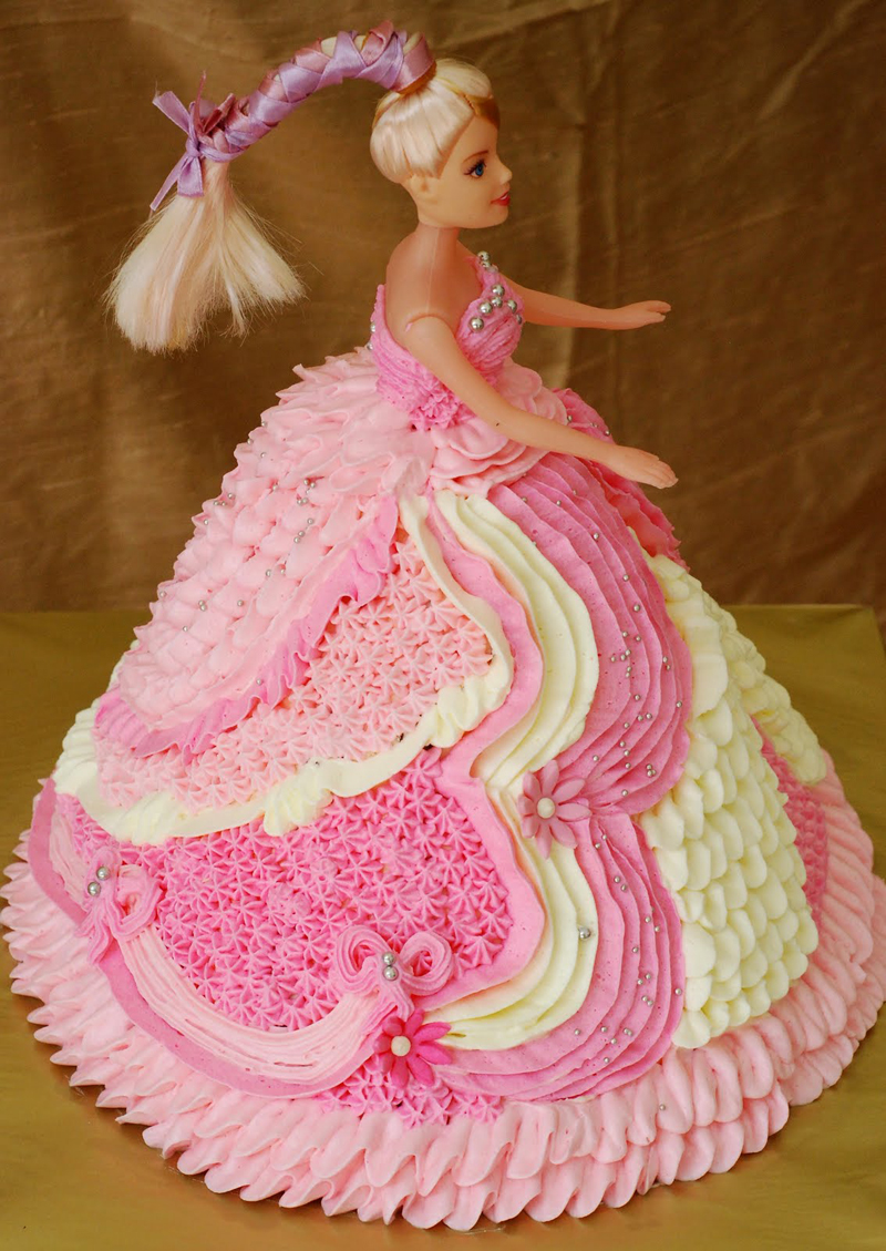 Barbie Cake Topper