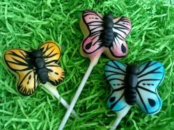 Butterfly cakepops