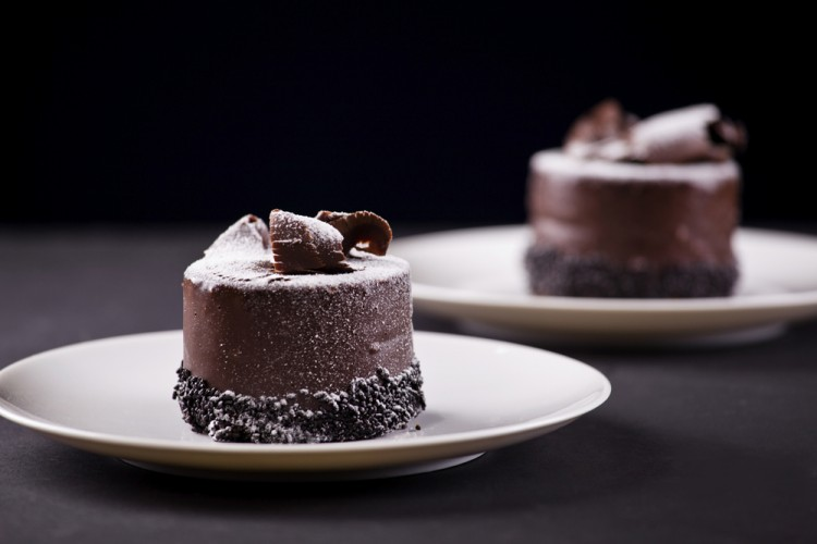 Chocolate mini cakes