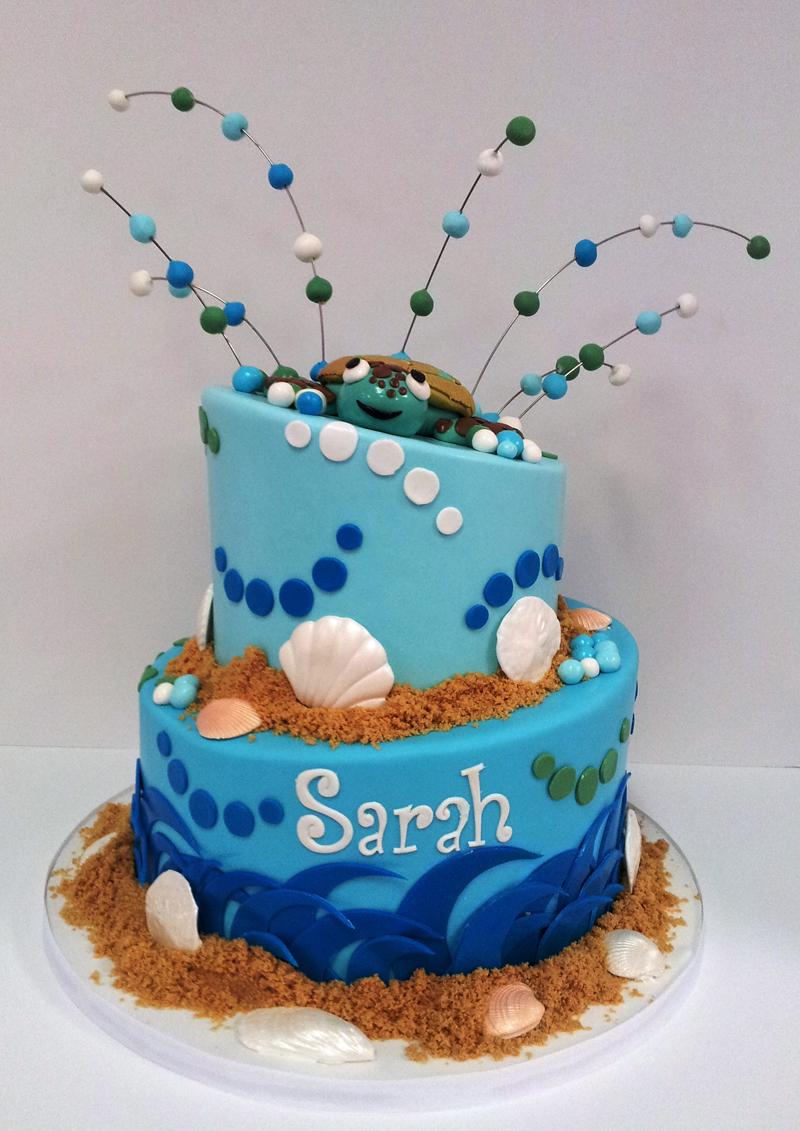 Cake Decoration Sea Theme : Sarah sea themed cake