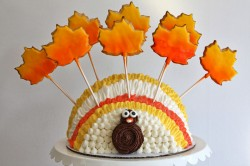 Thanksgiving cake – turkey