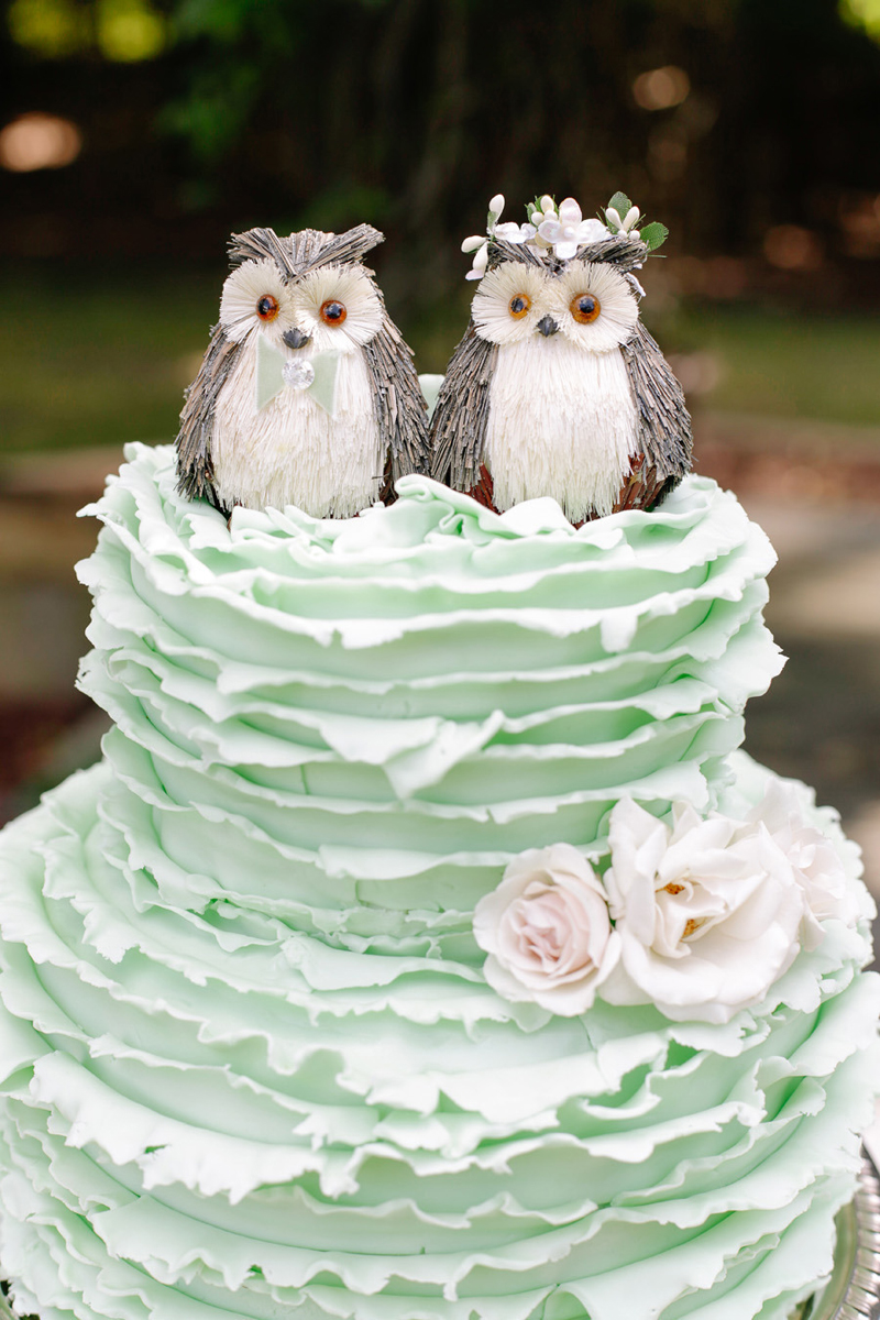 wedding cakes owl topper. Black Bedroom Furniture Sets. Home Design Ideas